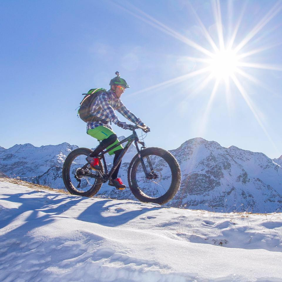 Fat Bike a Santa caterina Valfurva